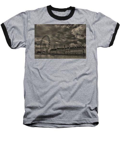 London Eye Baseball T-Shirt by Martin Newman