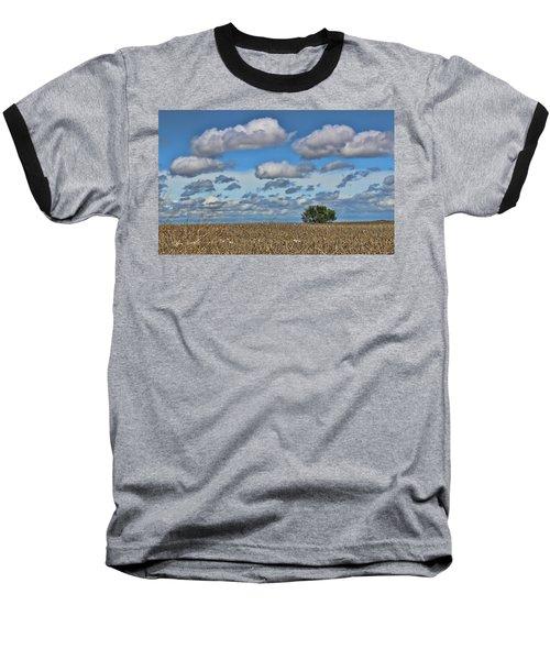 Lone Tree Baseball T-Shirt by Sylvia Thornton