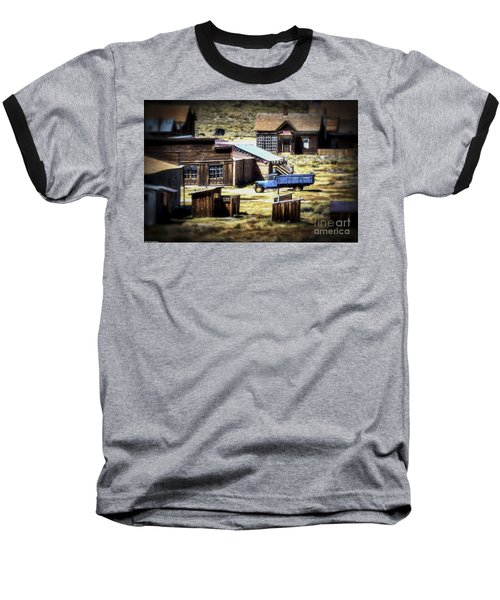 Baseball T-Shirt featuring the photograph Looking Back by Mitch Shindelbower