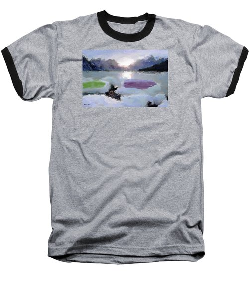 Looking Out Into The Bay Baseball T-Shirt