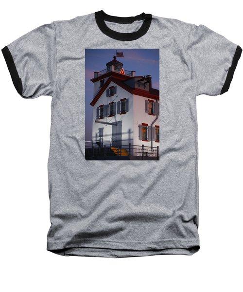 Lorain Lighthouse Baseball T-Shirt
