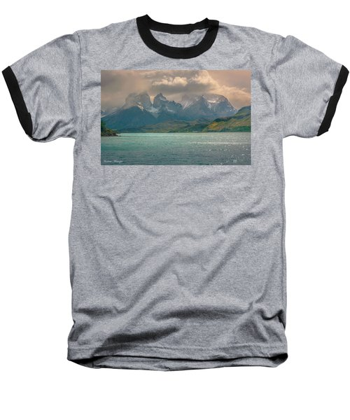 Baseball T-Shirt featuring the photograph Los Cuernos  by Andrew Matwijec