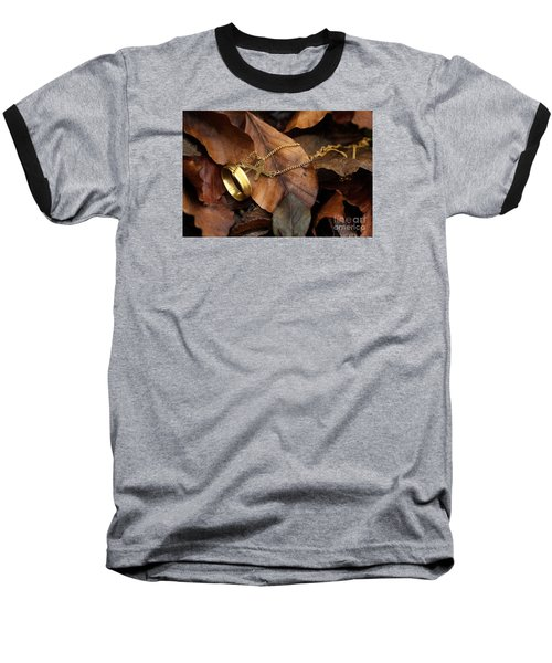 Baseball T-Shirt featuring the photograph Lost  by Gary Bridger