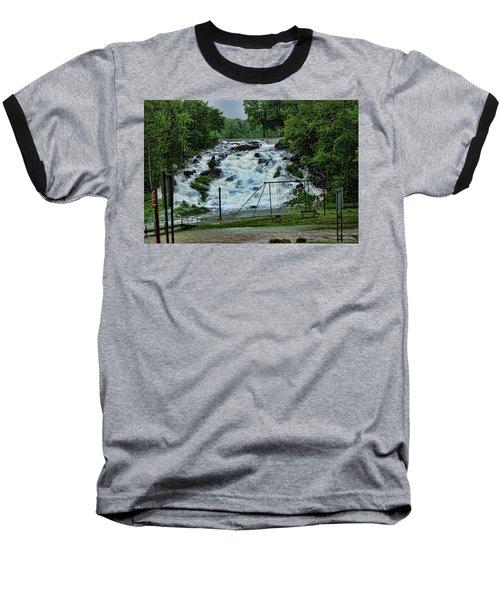 Lots Of Rain Baseball T-Shirt by Rick Friedle