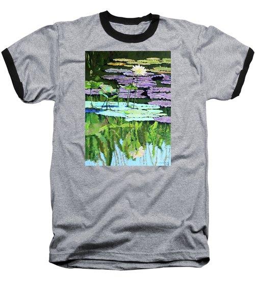 Lotus Reflections Baseball T-Shirt