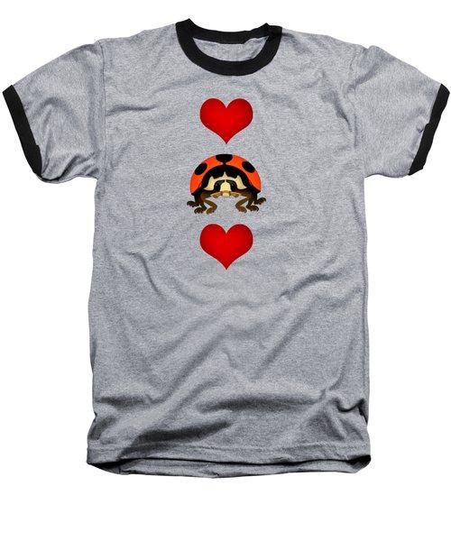 Love Bug Vertical Baseball T-Shirt