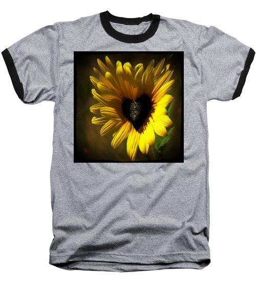 Love Sunflower Baseball T-Shirt