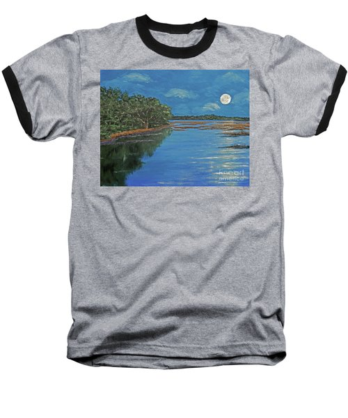 Lowcountry Moon Baseball T-Shirt
