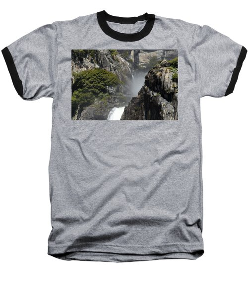 Lower Yosemite Falls Baseball T-Shirt