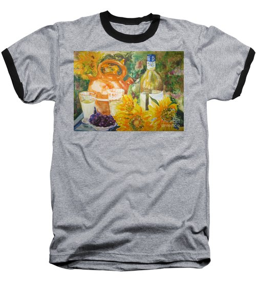 Lunch In Provence Baseball T-Shirt