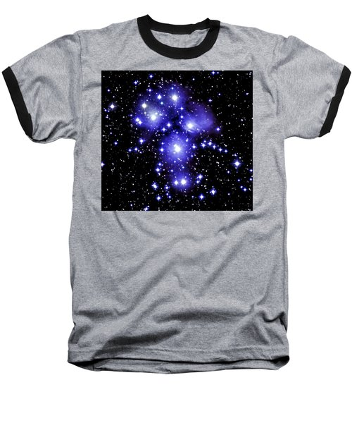 M45 Pleiades Baseball T-Shirt