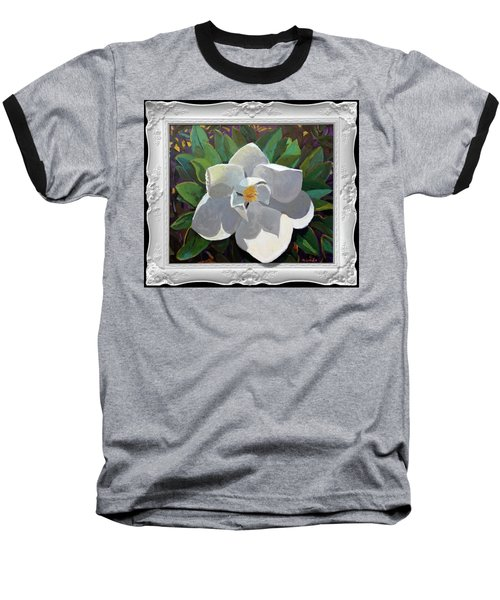 Magic Magnolia Baseball T-Shirt