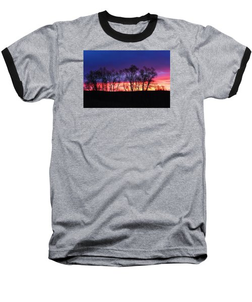 Magical Sunrise Baseball T-Shirt