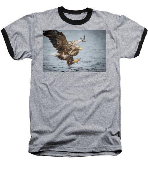 Male White-tailed Eagle Baseball T-Shirt