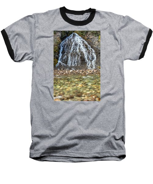 Cascades Of Maligne Canyon Baseball T-Shirt