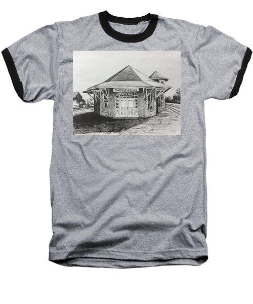 Marshallville Depot Baseball T-Shirt