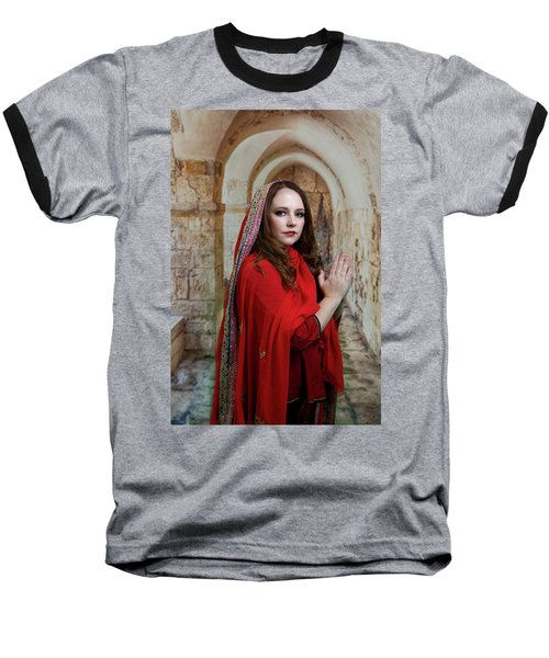 Mary Magdalene Baseball T-Shirt by David Clanton