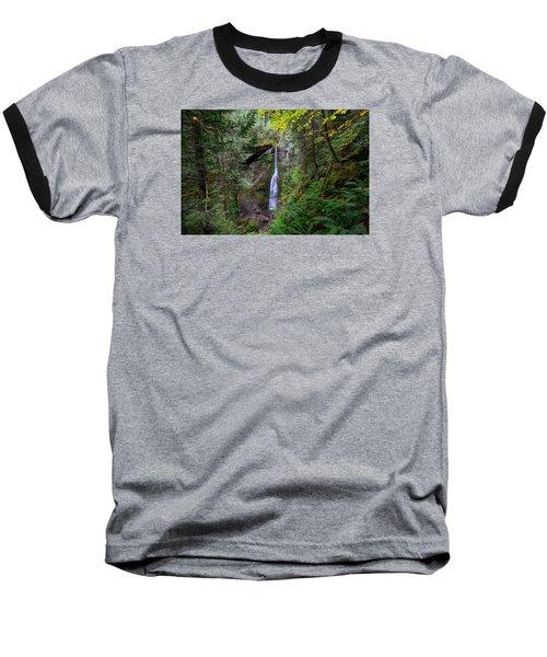 Marymere Falls Baseball T-Shirt