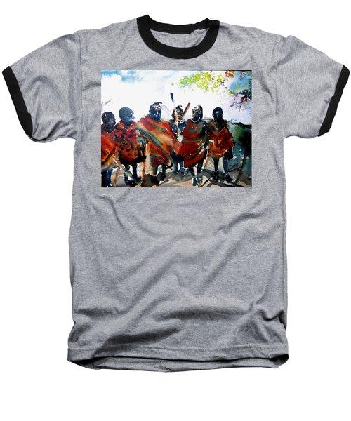 Masaai Boys Baseball T-Shirt