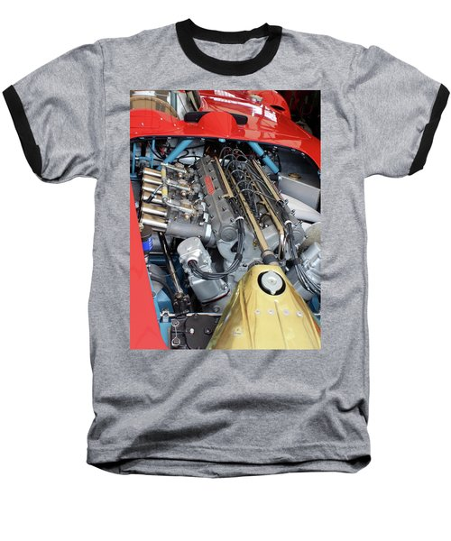 Maserati Engine Baseball T-Shirt
