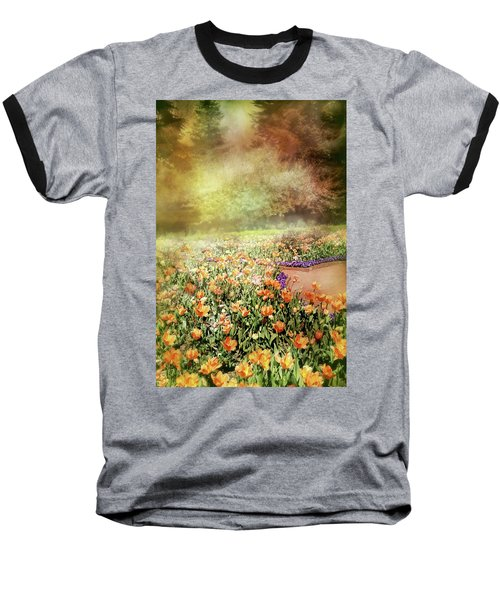 Baseball T-Shirt featuring the photograph Masquerade by Diana Angstadt