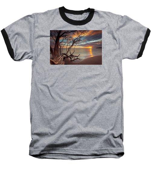 Maui Magic Baseball T-Shirt by James Roemmling