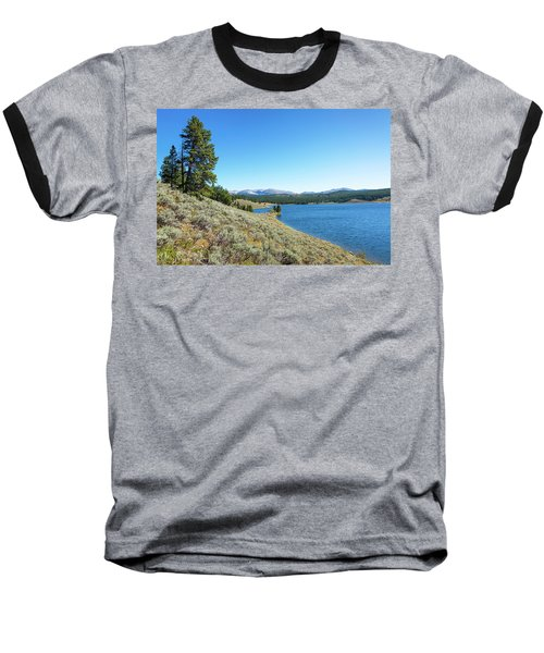 Meadowlark Lake View Baseball T-Shirt by Jess Kraft