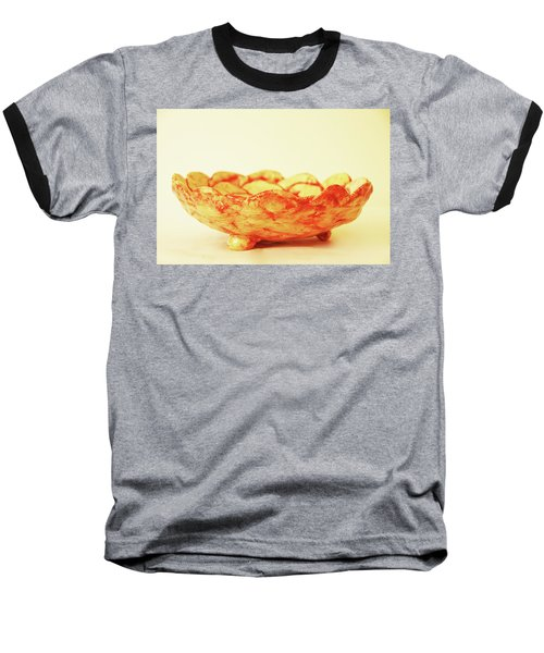 Baseball T-Shirt featuring the photograph Medium Patches Bowl1 by Itzhak Richter
