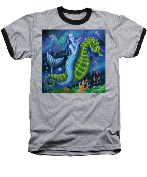 Mermaid Baseball T-Shirt
