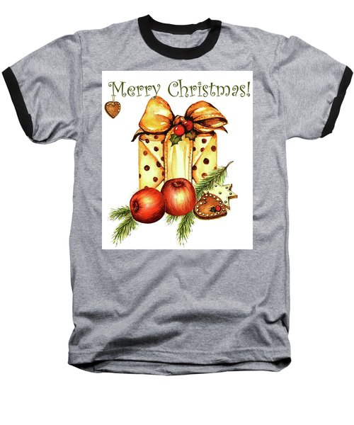 Merry Christmas Baseball T-Shirt
