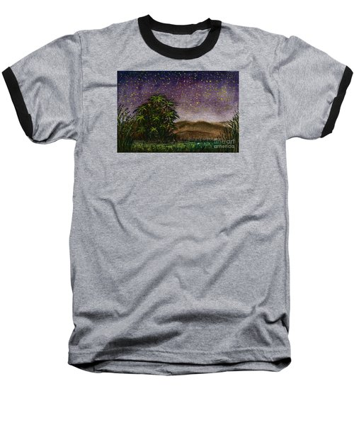 Midnight At The Oasis Baseball T-Shirt