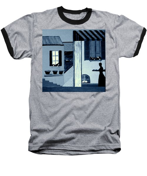Midnight In Limoux Baseball T-Shirt by Bill OConnor