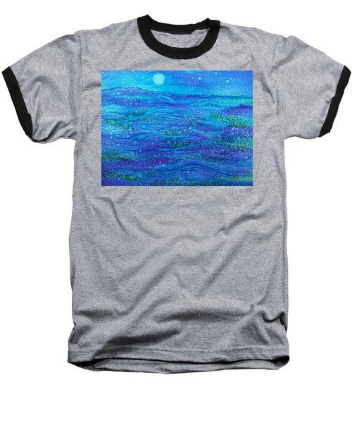 Midnight Swim Baseball T-Shirt