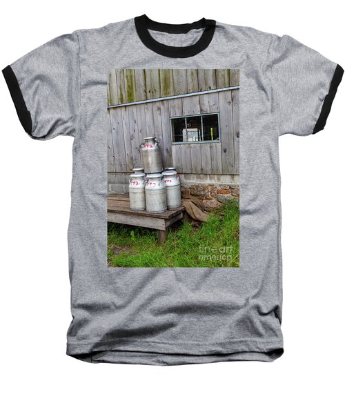 Milk Cans Baseball T-Shirt