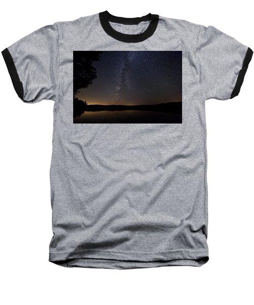 Milky Way Chocorua Lake Baseball T-Shirt