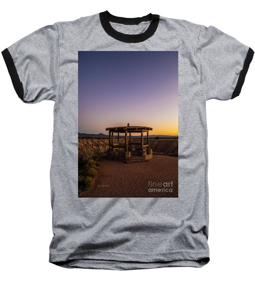 Cathedral Gorge Gazebo Baseball T-Shirt