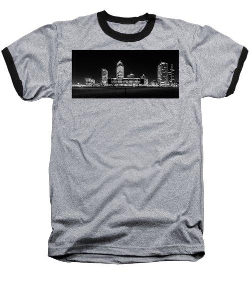 Milwaukee County War Memorial Center Baseball T-Shirt by Randy Scherkenbach