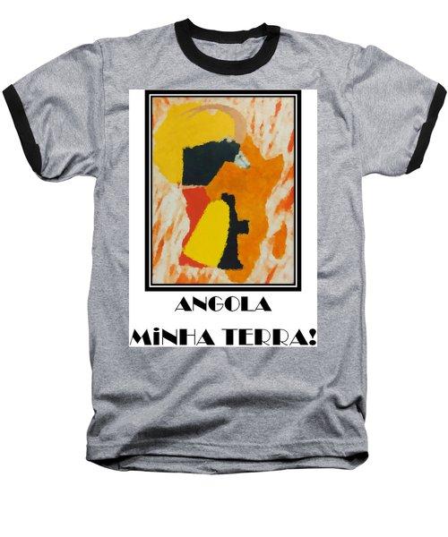 Minha Terra Baseball T-Shirt