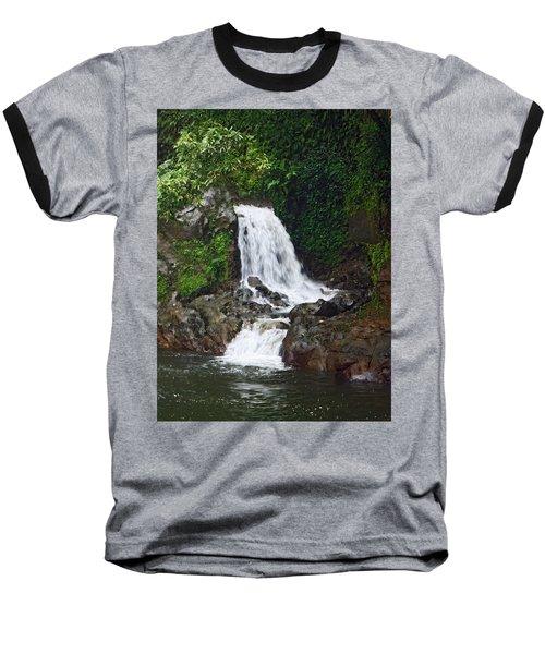 Mini Waterfall Baseball T-Shirt