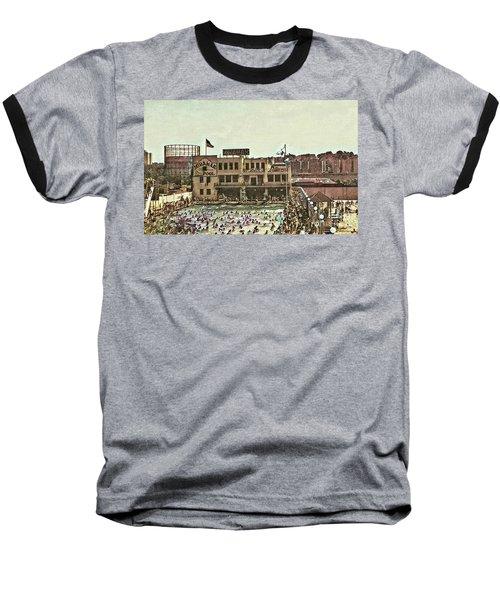 Miramar Saltwater Pool  Baseball T-Shirt