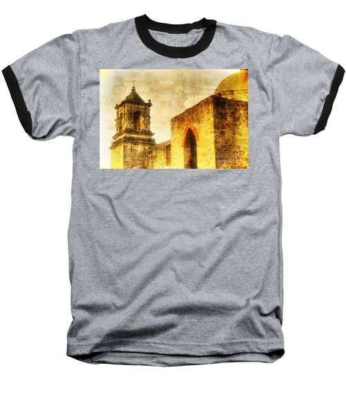 Mission San Jose San Antonio, Texas Baseball T-Shirt