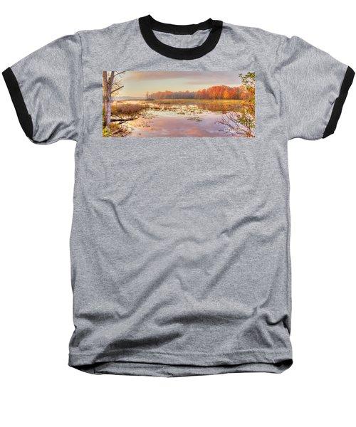 Misty Morning II Baseball T-Shirt