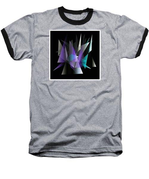 Modern 3 Baseball T-Shirt by Iris Gelbart