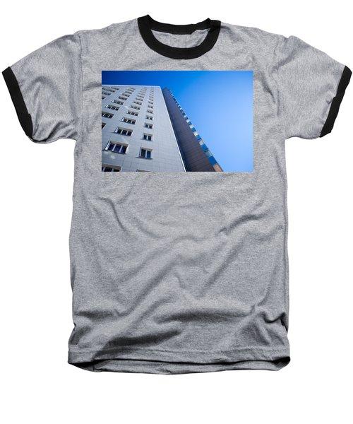 Baseball T-Shirt featuring the photograph Modern Apartment Block by John Williams