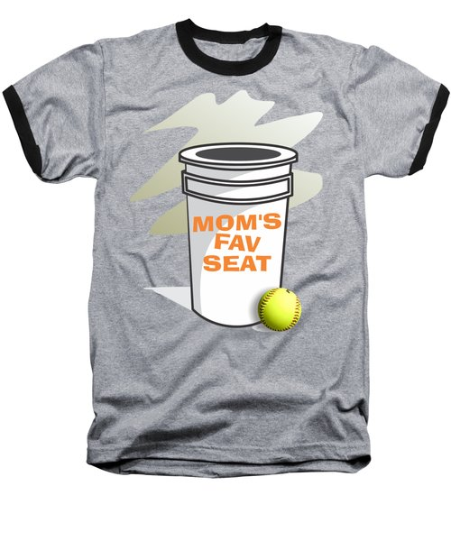 Mom's Favorite Seat Baseball T-Shirt