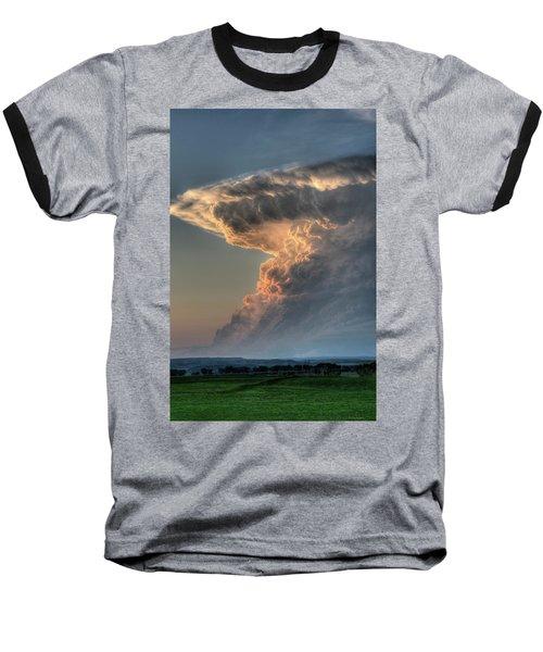 Montana Thunderstorm Baseball T-Shirt
