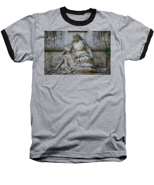 Baseball T-Shirt featuring the photograph Monument To The Duchess Of Victory Genoves Park Cadiz Spain by Pablo Avanzini