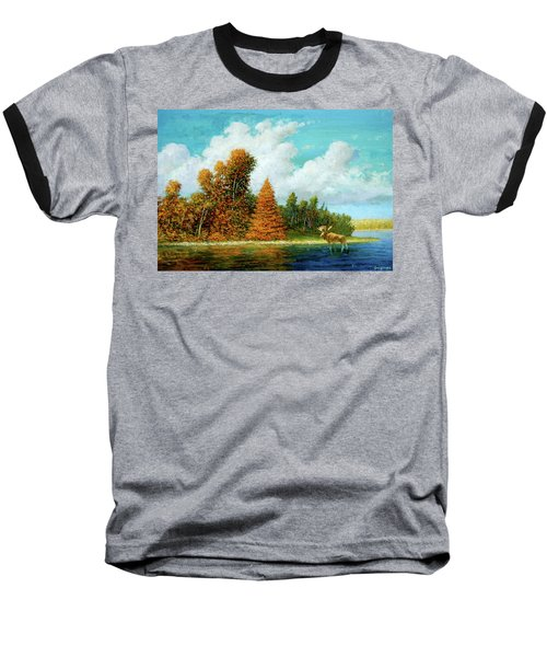 Moose Country Baseball T-Shirt