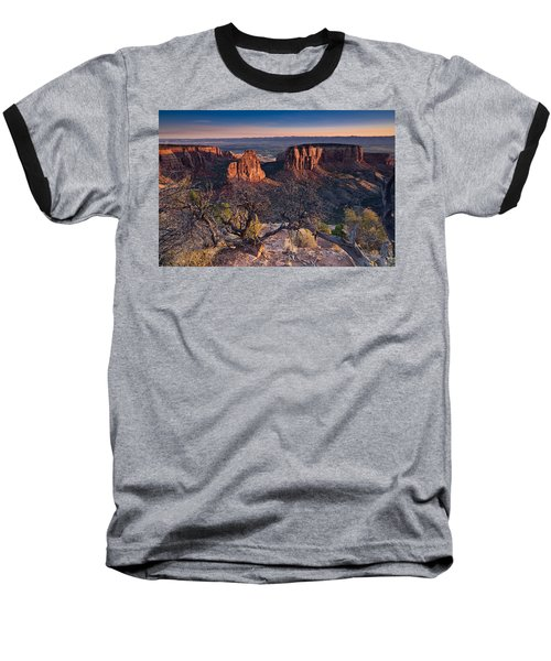 Morning At Colorado National Monument Baseball T-Shirt