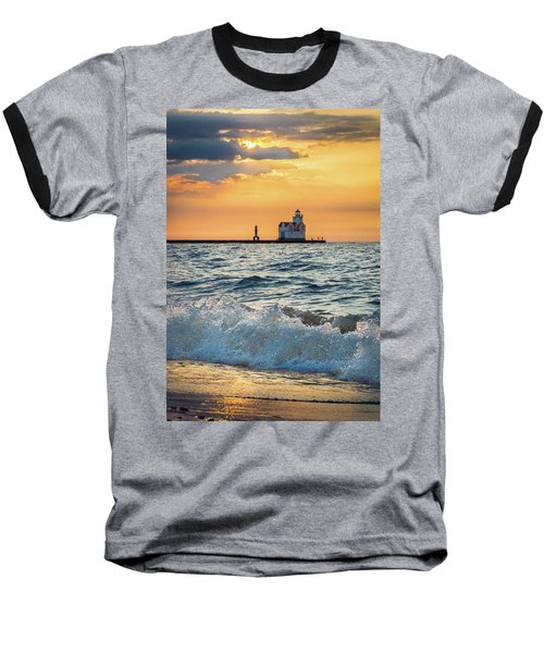 Morning Dance On The Beach Baseball T-Shirt